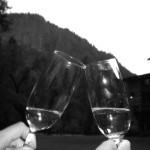 Cheers at the Ahwahnee