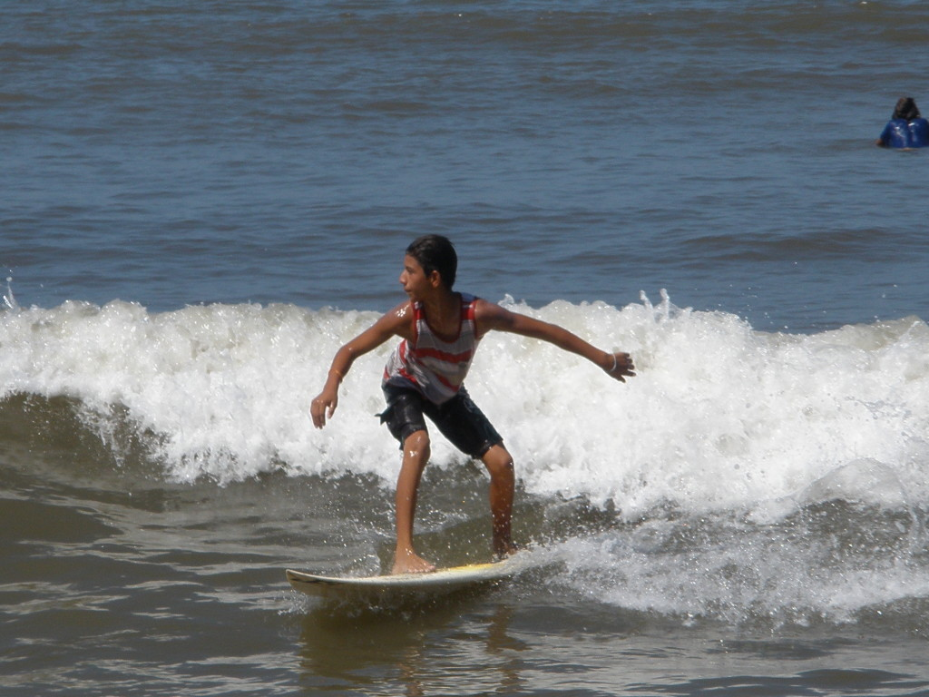 surfer in Sayulita