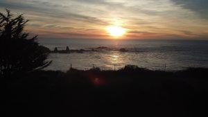 Sunset from Ledford House